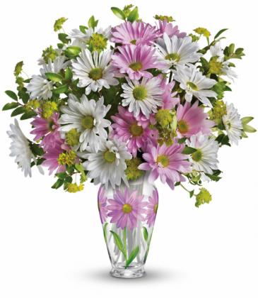 Sweet Blossoms All-Around Floral Arrangement