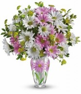Sweet Blossoms Home Vase Arrangment