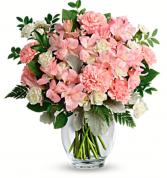 Sweet Blush Pink Arrangement  Mixed Flower Arrangement