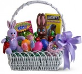 Sweet Bunny Basket Easter Basket of Treats