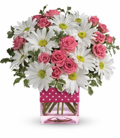 Sweet & Cheerful Vase Arrangement