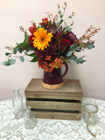 Sweet Cider Fall Arrangement