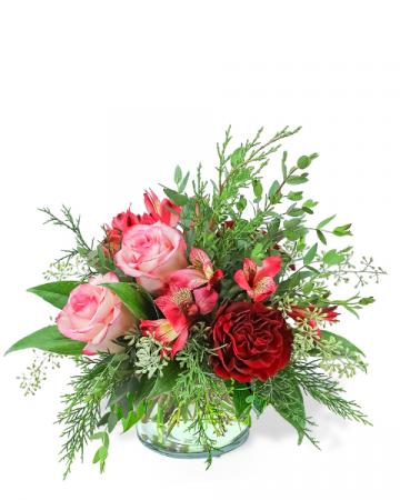 Sweet Cranberry Flower Arrangement