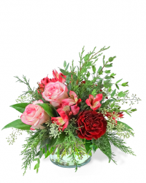 Sweet Cranberry Flower Arrangement