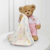 Sweet Dreams Baby Bear by Build-A-Bear Workshop® - Offered in Blue as well. Order and allow a few days for shipping.