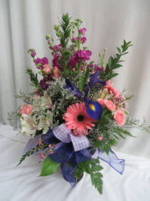Sweet Dreams Fresh Mixed Vased Arrangement