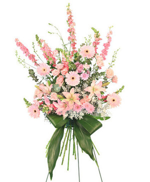 Sweet Dreams Standing Spray in Berkley, MI | DYNASTY FLOWERS & GIFTS