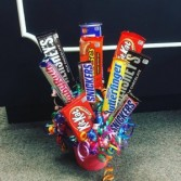 Sweet enough  Candy bar arrangement