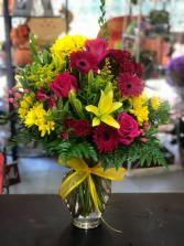 Sweet escape  Vase arrangement