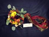Sweet fall bouquet Wedding bouquet