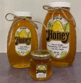 Sweet Fields Honey 2lb Honey Jar