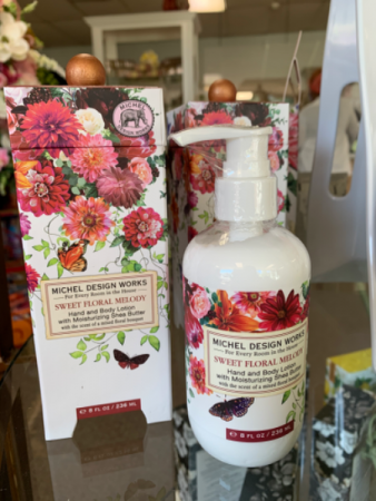 Sweet floral melody body lotion