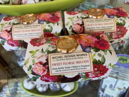 Sweet floral melody body soap bar