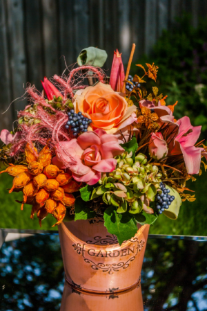 Sweet Garden Mix Silk Arrangement in Corner Brook, NL | The Orchid