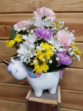 Sweet Girl Unicorn