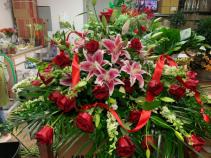 Sweet Goodbye Casket Flowers
