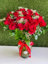 Four Dozen  Red Roses   in Tamarac, Florida | Ellie Flowers and Gift Shop