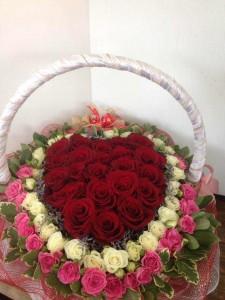 Sweet Heart Basket