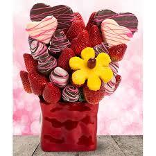 Sweet Heart Blossom Edible Fruit Arrangement