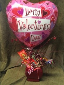 Sweet Heart candy Bar bouquet Valentine