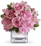 Sweet Heart Cube Vase