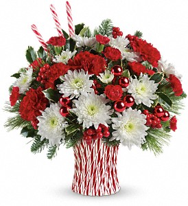 Sweet Holiday Wishes Holiday Arrangement