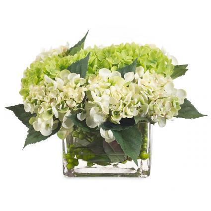Sweet Hydrangeas Vase