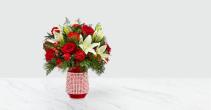 Sweet Joy Bouquet Christmas Arrangement