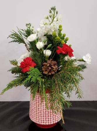 Sweet Joy Bouquet fresh arrangement in keepsake container