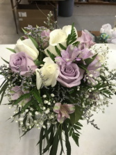 Sweet lavender bridal bouquet