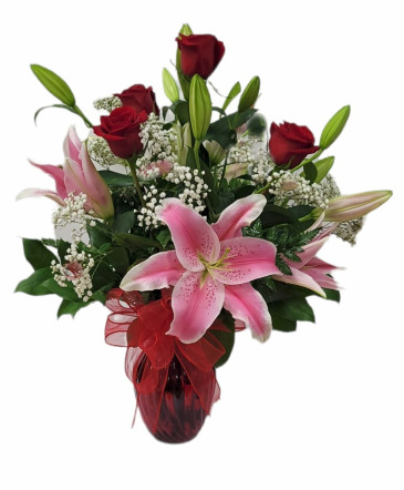 Sweet Lily MD18-6  Vase