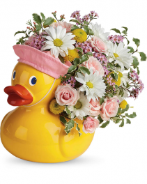 Sweet Little Ducky Flower Arrangement