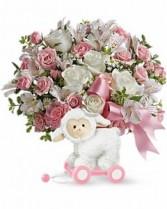 Sweet Little Lamb-Pink