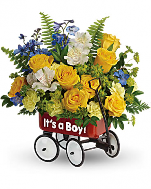 Sweet Little Wagon Bouquet  in Vancouver, BC   ARIA FLORIST