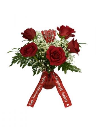 Sweet Love Valentines' Arrangement