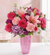 Sweet medley for Mom 163055 vase arrg