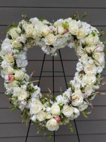 Sweet Memories Funeral Wreath