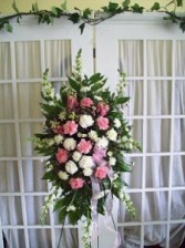 Sweet Memories Standing Spray Floral Arrangement