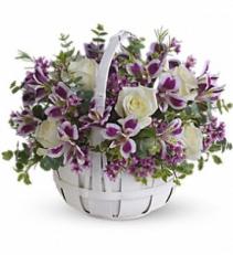 Sweet Moments Basket arrangement