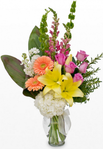 Sweet moments bouquet Flower design ideas only offered in standard size as shown