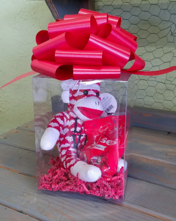 Sweet Monkey Kisses Valentine's Day