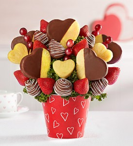 Sweet on you Fruit Bouquet Fruit Arrangement