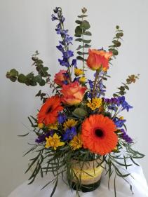 Sweet Orange  Vase Design