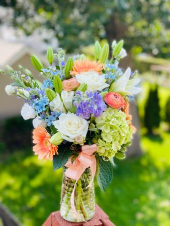 Sweet Pastels Vase