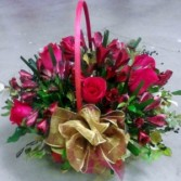 Sweet pea basket, MO-33 Fresh floral