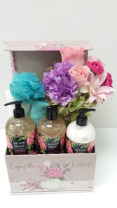 Sweet Pea Pampering Box Gift Set