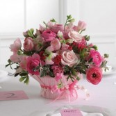 Sweet Peas and Rananculus  Shades of Pink Flower Delivery