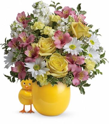Sweet Peep Pink Bouquet