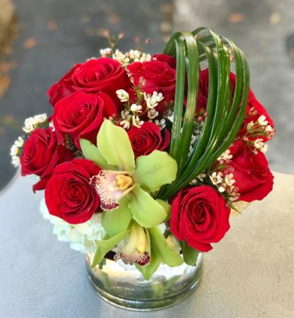 Sweet Petite Bouquet  Vased Arrangement