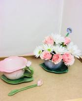Sweet & Petite  Tea Cup & Saucer